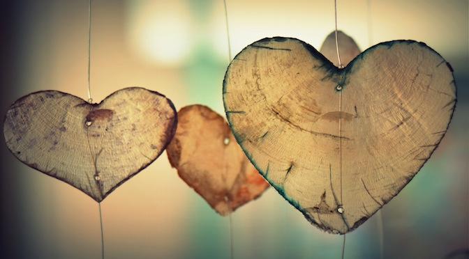 Coeurs en décor