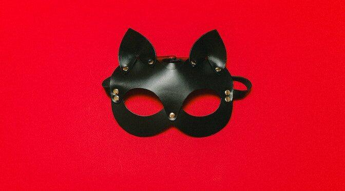 Masque de chat en cuit pour adulte